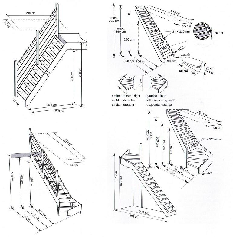 Vaste zolder trap for Trap plaatsen naar zolder